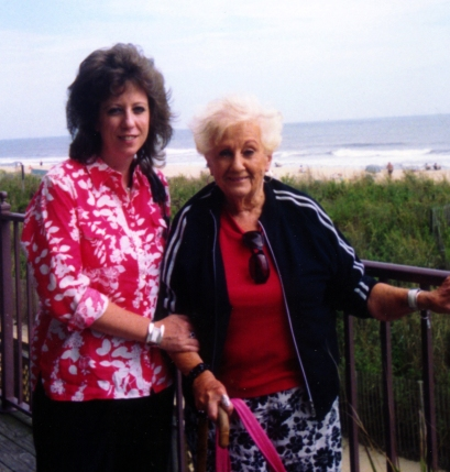 Another shot of me and my mom at the beach. Part of a yearly girls' trip with my sister.