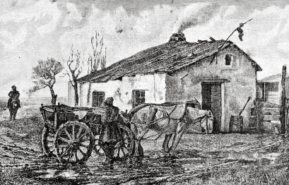 bigstock-Village-Hotel-Engraving-by-Fl-31216964