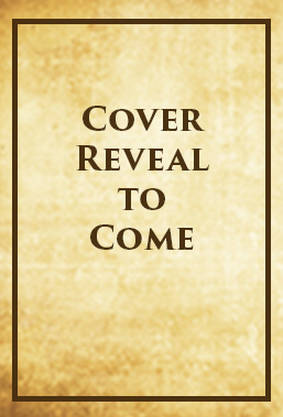 "Blank book cover with the words ""cover reveal to come"" on the cover"