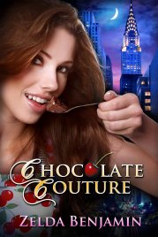 Book cover for Chocolate Couture by Zelda Benjamin