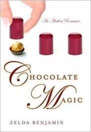 Book cover for Chocolate Magic by Zelda Benjamin
