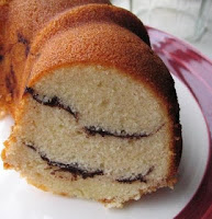 Cocoa ring cake