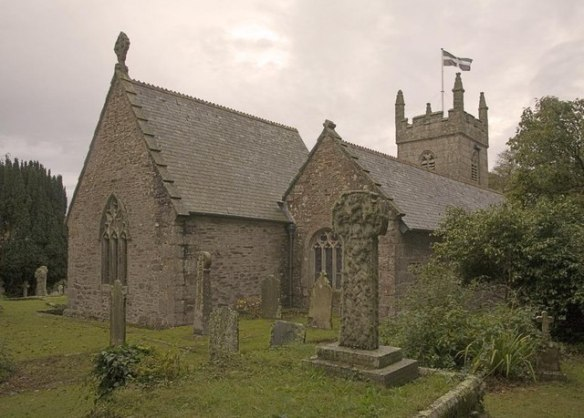 Mawnan Church, Kerrier district, Cornwall