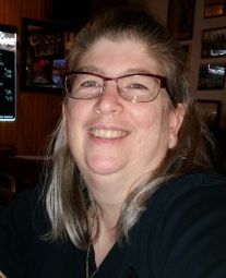Author Michele Jones in a candid shot