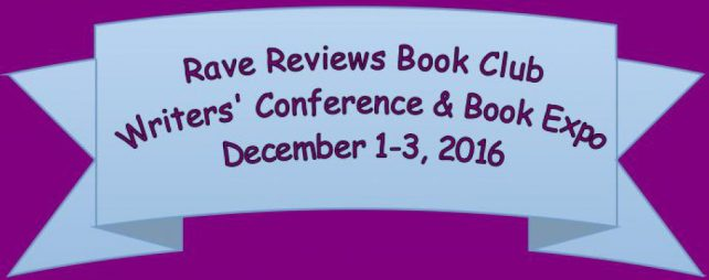Banner logo for the Rave Reviews Book Club Conference and Book Expo