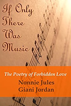 Book cover of If Only There Was Music by Nonnie Jules shows a musical notes at an angle