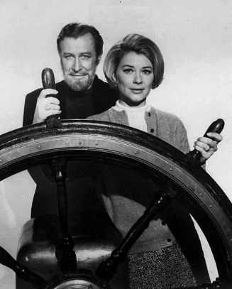 Edward Mulhare and Hope Lange