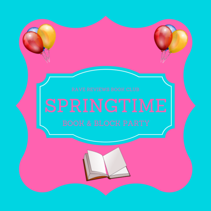 Badge for Rave Reviews Book Club Springtime Book & Blog Party