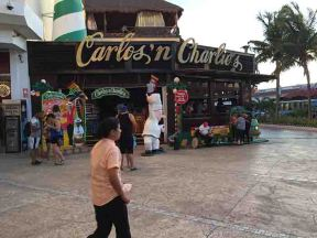 Carlos' n Charlie's in Cancun, Mexico