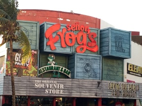 Senor Frogs in Cancun Mexico