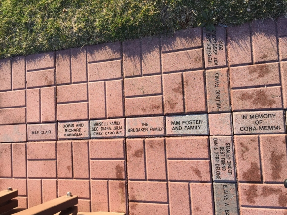 multiple bricks with names