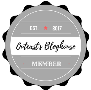 logo badge for the Outcast's Bloghouse