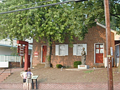 The Jennie Wade House in Gettysburg, Image in public domain