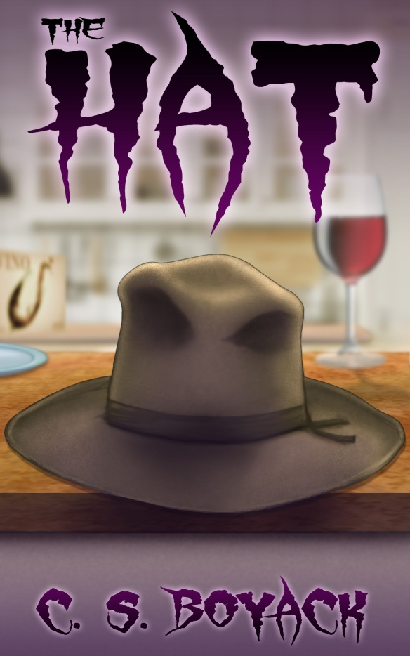 Cover for the novella, The Hat by C. S. Boyack