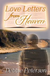 Book cover for Love Letters from Heaven a paranormal romance novel by Debbie Peterson
