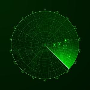 sonar screen