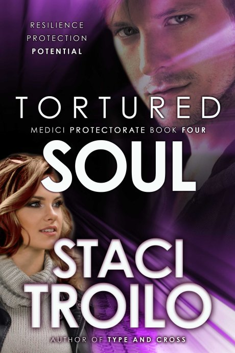Book cover for Tortured Soul by Staci Troilo