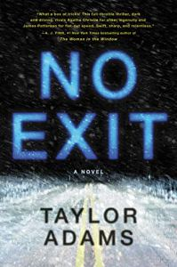 book cover for No Exit by Taylor Adams