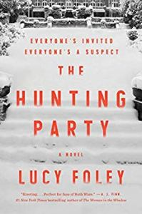 Book cover for The Hunting Party, a novel by Lucy Foley