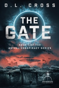 Book cover for The Gate, a science-fiction novel by D. L. Cross