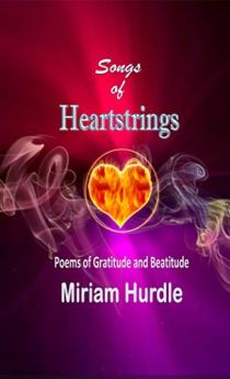 Book cover for Songs of Heartstrings, a collection of poetry by Miriam Hurdle