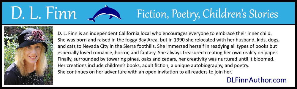 bio box for author D.L. Finn